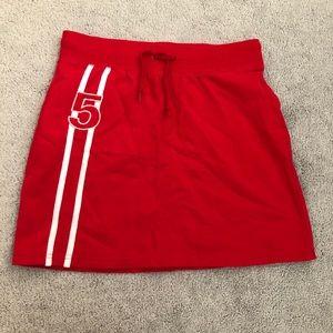 *3 for $20!!* Jr. red tennis skirt